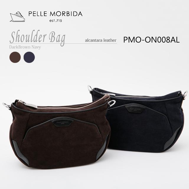 ペッレモルビダ・PELLE MORBIDA ショルダーバッグ【送料無料】アルカンターラ sholder PMO-ON008AL