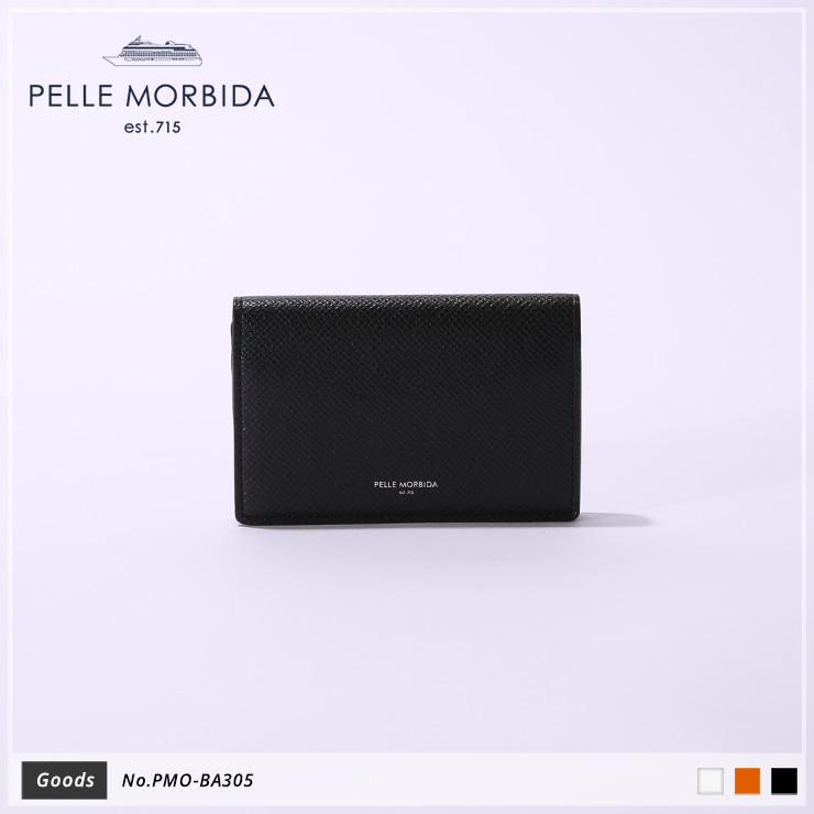 【PELLE MORBIDA|ペッレモルビダ】Barca ヌォーヴァ オーヴァーロード 牛革 Goods カードケース 名刺入れ PMO-BA305 [送料無料]