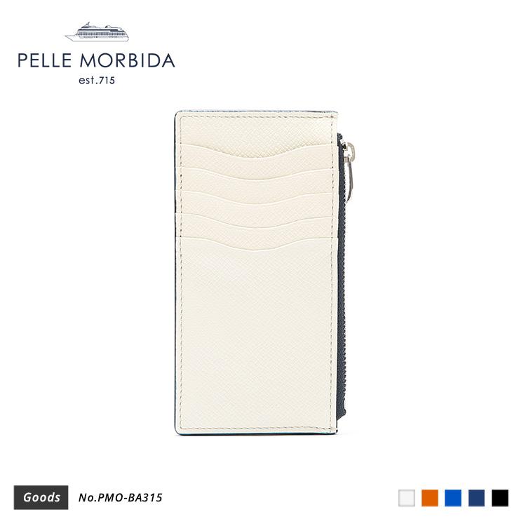【PELLE MORBIDA|ペッレモルビダ】Barca ヌォーヴァ オーヴァーロード 牛革 Goods ウォレット ミニウォレット PMO-BA315 [送料無料]