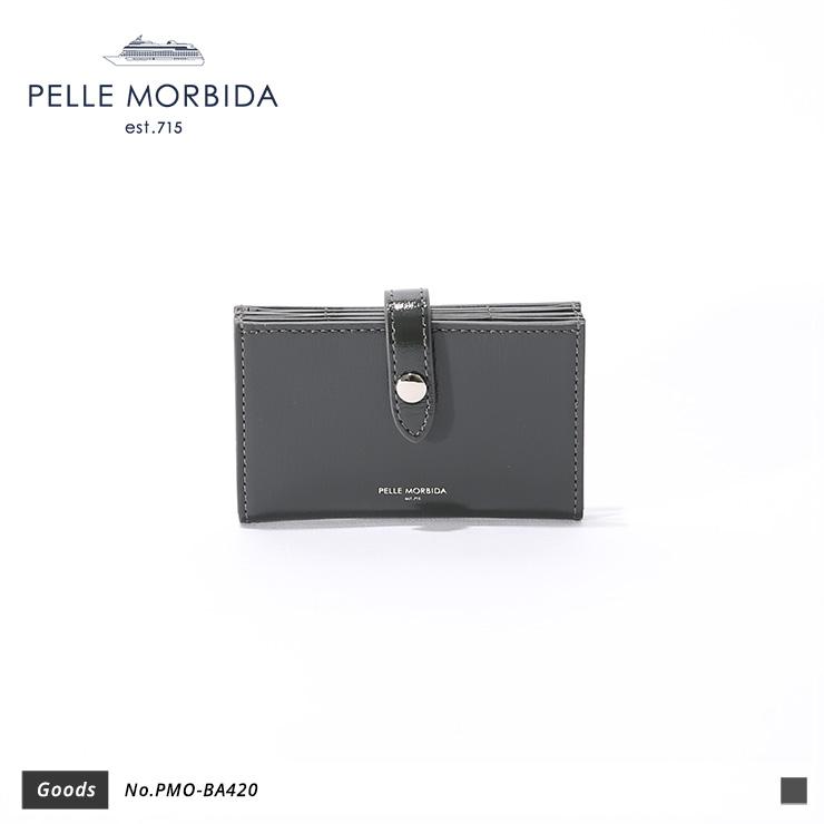 【PELLE MORBIDA|ペッレモルビダ】Barca ゴートレザー 牛革 Goods カードケース PMO-BA420 [送料無料]