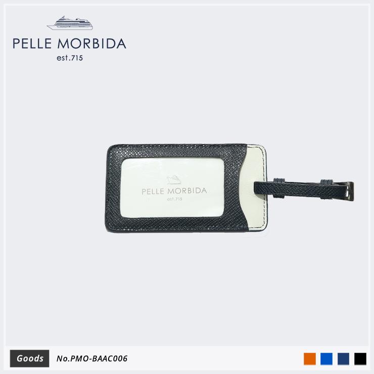 【PELLE MORBIDA ペッレモルビダ】Barca ヌォーヴァ オーヴァーロード 牛革 Goods ネームタグ PMO-BAAC006 [送料無料]