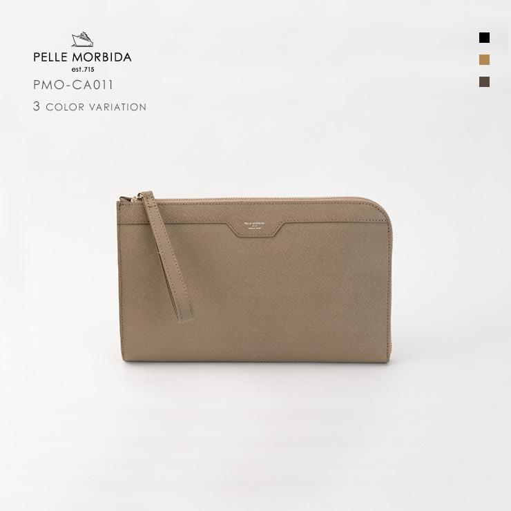 ペッレモルビダ・PELLE MORBIDA クラッチ【送料無料】牛革 Clutch PMO-CA011