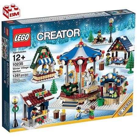 レゴ クリエーター ウインタービレッジマーケット│LEGO Creator Winter Village Market【10235】