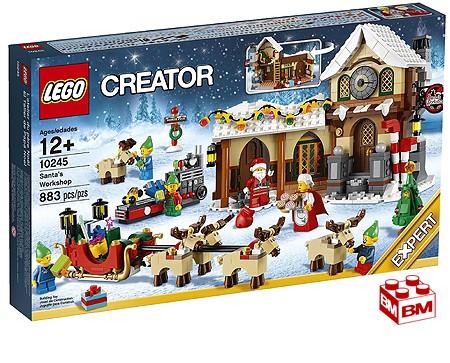 レゴ クリエーター サンタのワークショップ│LEGO Creator Santas Workshop【10245】