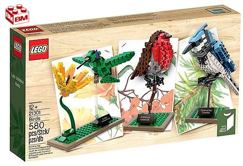 レゴ アイデア 世界の鳥│Lego Ideas Birds 21301