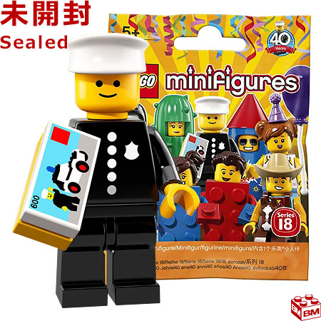 Classic Police Officer LEGO 71021 Minifigures Series 18