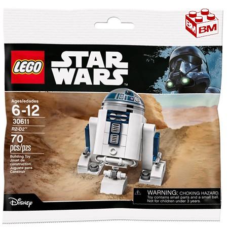 レゴ スター・ウォーズ R2-D2│R2-D2 Exclusive 2017 Minifigure Bagged - polybag 【30611】