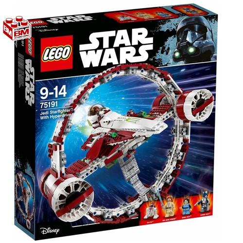 レゴ スター・ウォーズ ジェダイスターファイターとハイパードライブ│ LEGO Star Wars Jedi Starfighter with Hyperdrive 【75191】