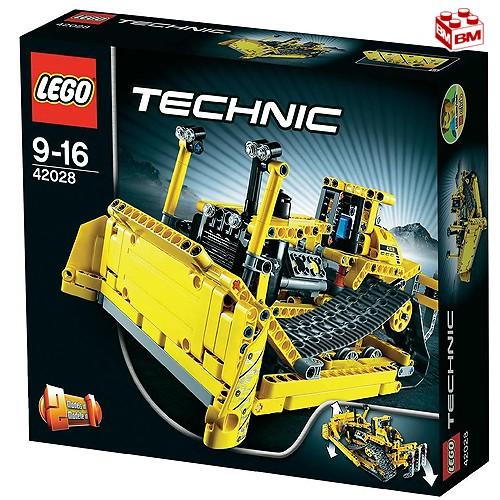 レゴ テクニック ブルドーザー │LEGO Technic Bulldozer 【42028】