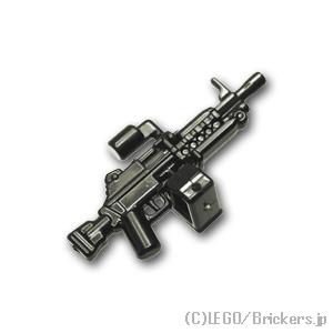 レゴ互換の精密な武器でミニフィグの武装を強化だ! レゴ カスタム パーツ ミニフィグ ライトマシンガン MK46 [Black/ブラック] | レゴ互換品 ミニフィギュア 人形 ミリタリー 武器 銃 マシンガン