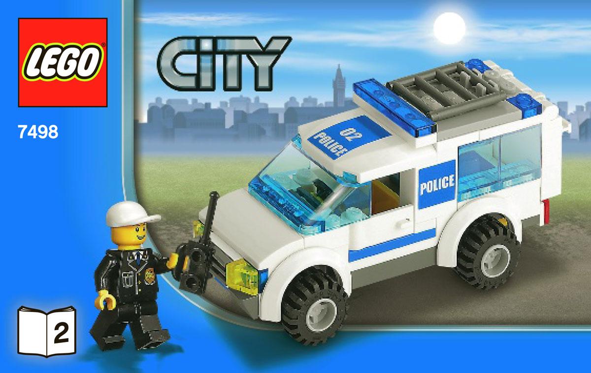 Brickers Rakuten Global Market Lego City Police Station 7498