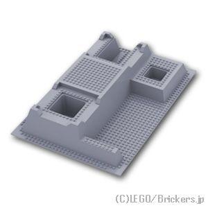 贈与 5 500円以上ご注文で送料無料 レゴ パーツ 基礎板 ベースプレート ライズド 32 x 48 グレー Light LEGO純正品の Bluish セール品 水平 - 6 バラ Gray 売り