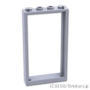 6 NEW LEGO Door Frame 1 x 4 x 6 Type 2 Light Bluish Gray