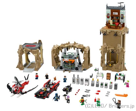 レゴ スーパー・ヒーローズ バットマン クラシックTVシリーズ バットケイブ   lego 76052 スーパーヒーローズ