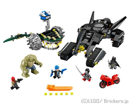 レゴ スーパー・ヒーローズ バットマン キラークロック 下水道での対決 | lego 76055 スーパーヒーローズ