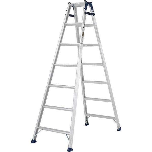 【送料無料】【直送】ALINCO アルインコ はしご兼用脚立210cm ステップ幅広 MXA-210W