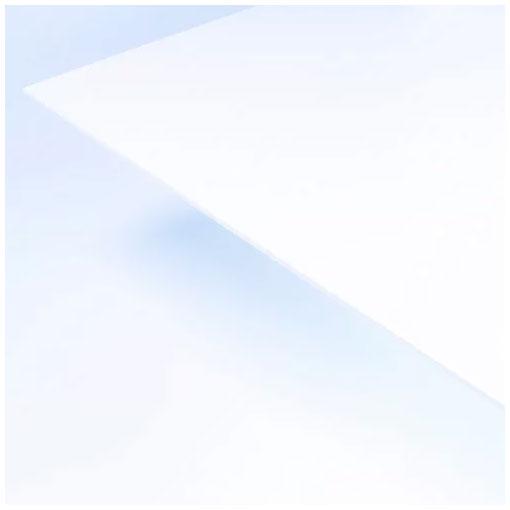 【3枚セット】【送料無料】アクリサンデー フォーレックス E-7001 白 L 450×900mm 厚さ3mm