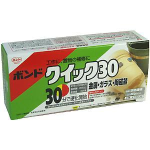 Konishi quick 30 epoxy-based adhesives 80 g set #16231
