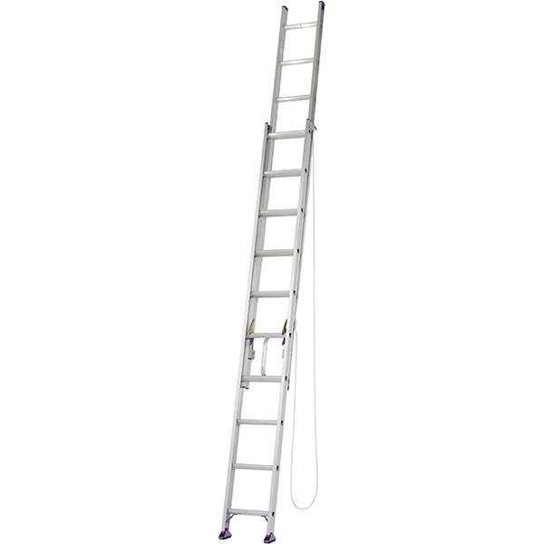 【送料無料】【直送】アルインコ アルミ2連はしご 6.0m CX-60DE