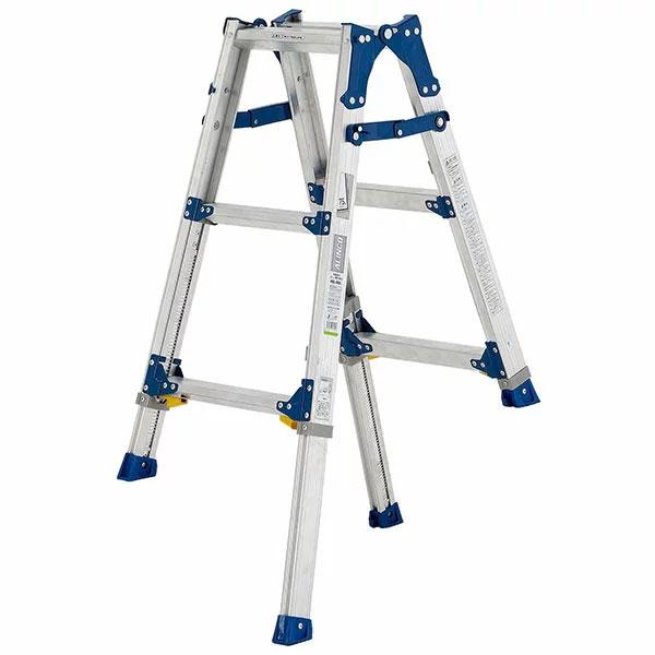 【送料無料】【直送】ALINCO アルインコ 伸縮脚付はしご兼用脚立90cm PRE-90FX