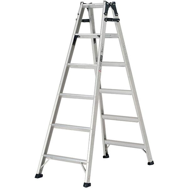 【送料無料】【直送】ALINCO アルインコ はしご兼用脚立180cm ステップ幅広 MXB-180FX 耐荷重130kg