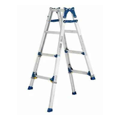 【送料無料】【直送】ALINCO アルインコ 伸縮脚付はしご兼用脚立120cm PRE-120FX