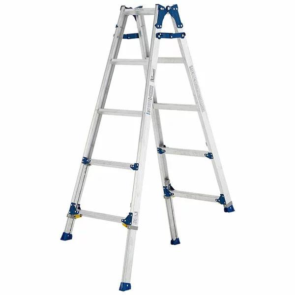 【送料無料】【直送】ALINCO アルインコ 伸縮脚付はしご兼用脚立150cm PRE-150FX