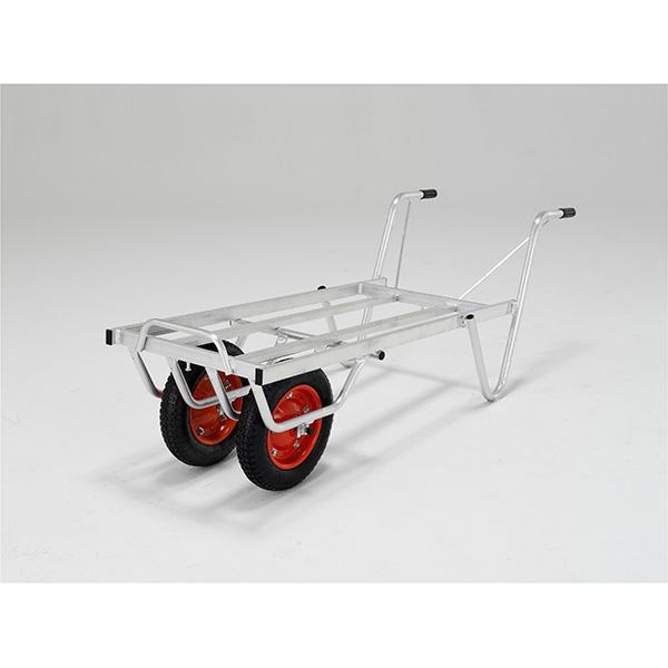 【送料無料】【直送】ALINCO アルインコ アルミ製台車 コンテナカー 3コンテナ用二輪タイプ SKX-03W