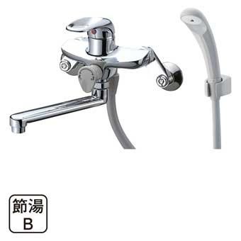【送料無料】SAN-EI 三栄水栓製作所 シングルシャワー混合栓 バスルーム用 SK1710-13