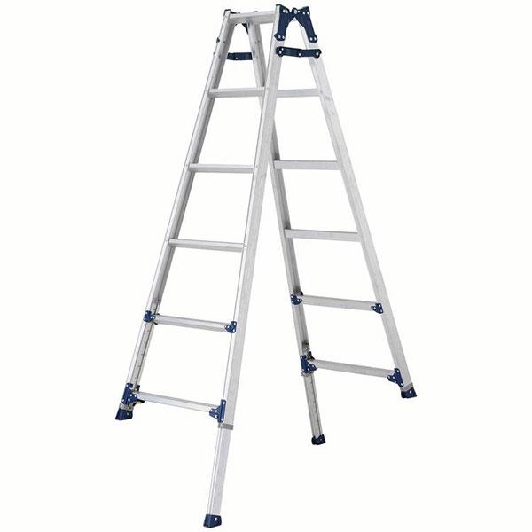 【送料無料】【直送】ALINCO アルインコ 伸縮脚付はしご兼用脚立180cm PRE-180FX