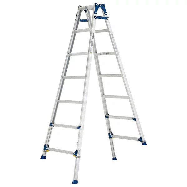 【送料無料】【直送】ALINCO アルインコ 伸縮脚付はしご兼用脚立210cm PRE-210FX