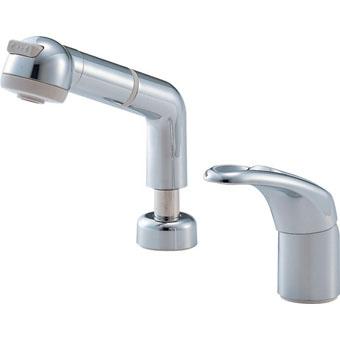 【送料無料】SAN-EI 三栄水栓製作所 シングルスプレー混合栓 洗髪用 洗面所用 K3761JV-C-13