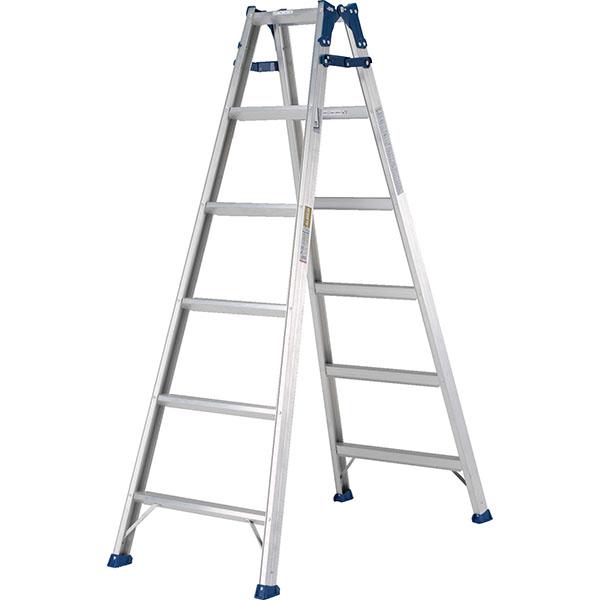 【送料無料】【直送】ALINCO アルインコ はしご兼用脚立180cm ステップ幅広 MXA-180W