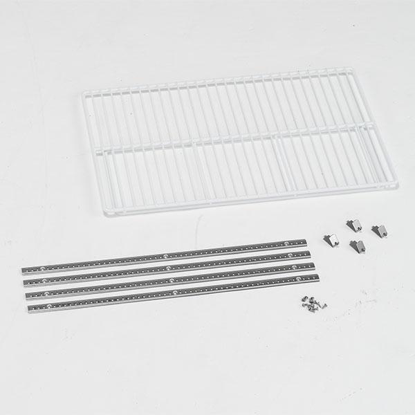 送料無料 アルインコ 低温貯蔵庫 保冷庫10 人気上昇中 14 MET900T 棚柱付 オプション棚板セット 16袋用 激安