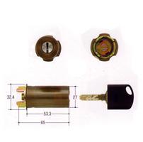 MIWA JNシリンダー RAタイプ ブロンズ色 【FSMCY-185】【取替用シリンダー】【美和】【ミワ】
