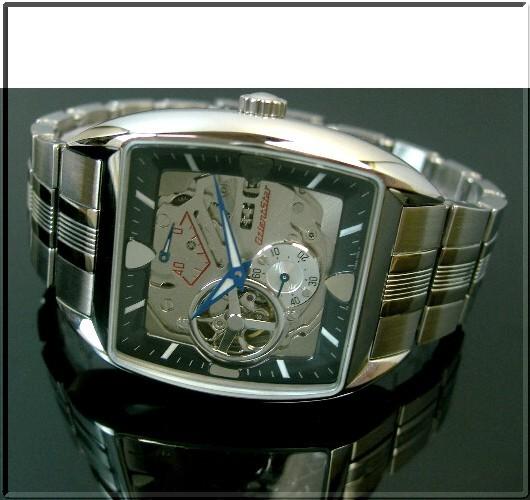 ORIENT/Orient Star 맨즈 손목시계 자동권레트르 퓨처 커 모델 블랙 문자판 메탈 벨트 WZ0091FH(국내 정규품)