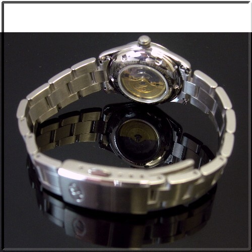 ORIENT/Orient Star 레이디스 손목시계 자동권메탈릭 사몬 핑크 문자판 메탈 벨트(국내 정규품) WZ0341NR