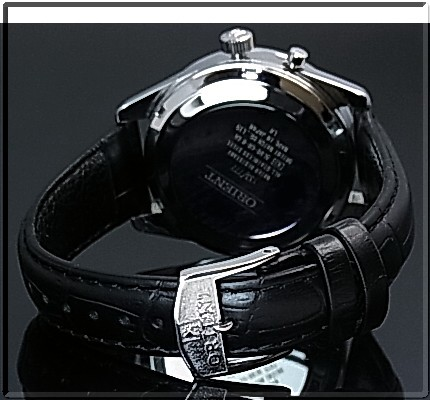 ORIENT/FLASH North star men's watch hand-wound MADE IN JAPAN champagne character dial black leather belt URL003DL