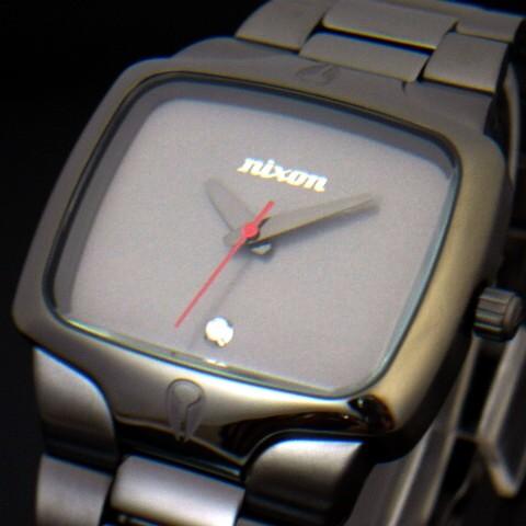 NIXON【ニクソン】プレイヤー メンズ腕時計 GUNMETAL/ガンメタル【送料無料】A140-131(国内正規品)