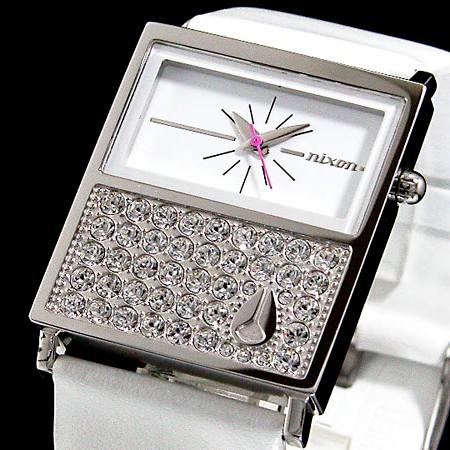 NIXON【ニクソン】CHALET レディース腕時計 CRYSTAL【送料無料】A576-710(国内正規品)