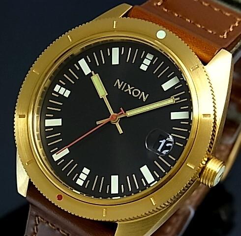 NIXON【ニクソン】ROVER/ローバー メンズ腕時計 サープラス/ゴールド【2013年WINTER新作】【送料無料】A355-1432(国内正規品)