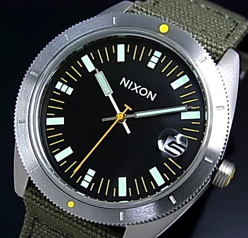 NIXON【ニクソン】ROVER/ローバー メンズ腕時計 サープラス/ブラック【2012年WINTER新作】【送料無料】A355-1089(国内正規品)