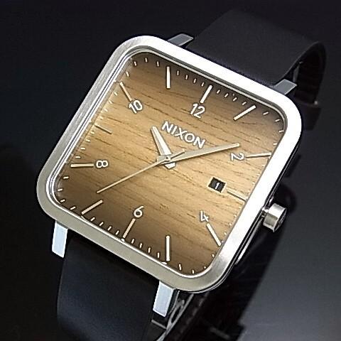 NIXON【ニクソン】RAGNAR 36 ウッド/シルバー ボーイズサイズ 腕時計【2016年新作】【送料無料】A985-2457(国内正規品)