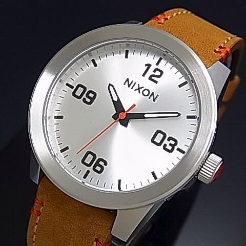 NIXON【ニクソン】G.I. LEATHER サドル レディース腕時計【2016年新作】【送料無料】A933-747(国内正規品)