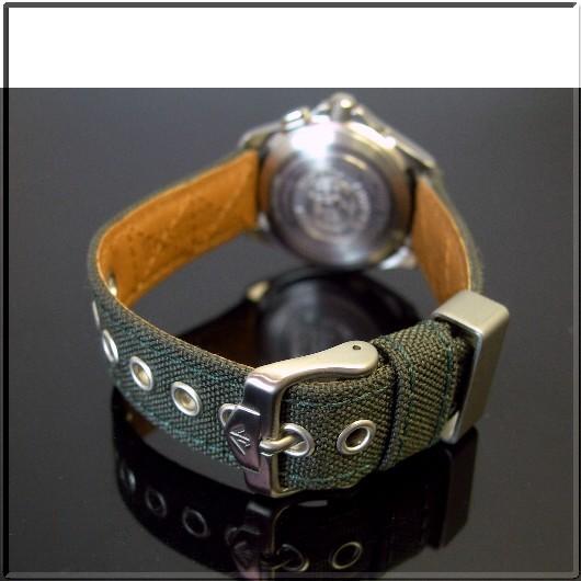 CITIZEN/PROMASTER women's solar radio watch black letter Edition canvas / leather belt (Japanese regular Edition) PMB56-2883