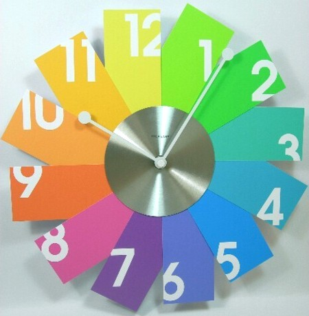 Bright Rakuten Global Market Interior Clock Card Wall