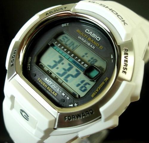 CASIO/G-SHOCK【カシオ/Gショック】ソーラー電波腕時計 ホワイトラバーベルト GW-M850-7 海外モデル【並行輸入品】