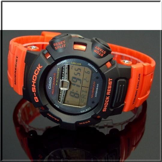 CASIO/G-SHOCKMUDMAN/maddomansora电波手表救援橙子GW-9010R-4JF(国内正规的物品)