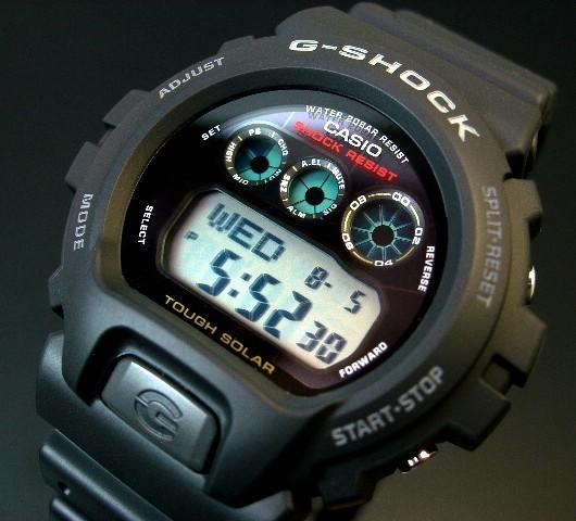 CASIO/G-SHOCK【カシオ/Gショック】タフソーラー搭載モデル G-6900-1 海外モデル【並行輸入品】