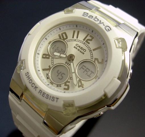 CASIO/Baby-G【カシオ/ベビーG】BGA-110-7B ホワイト 海外モデル【並行輸入品】